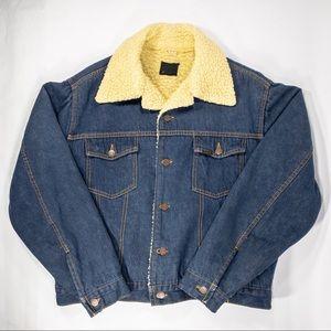 Vintage Roebucks Western Blue Denim Jacket
